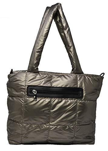 Weiche Gesteppte Tasche Gepolsterte Tasche Modetasche Damen Tasche Sportstil Gesteppte Umhängetasche Polsterung Quilten