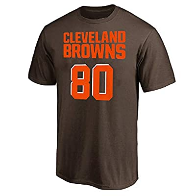 Jarvis Landry Cleveland Browns NFL Youth 8-20 Brown Mainliner Player Name & Number T-Shirt (Youth Large 14-16)