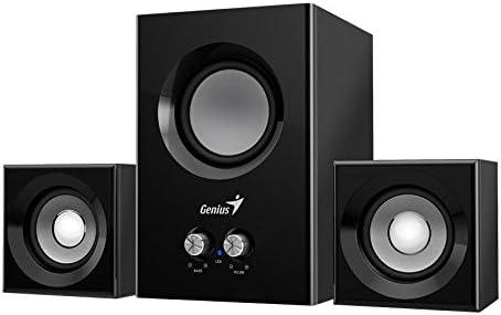 Genius Sw 2 1 375 Speaker Sets 1 Way 90 X 80 X 90 Mm 120 X 142 X 180 Mm Universal Ac Mp3 Hifi