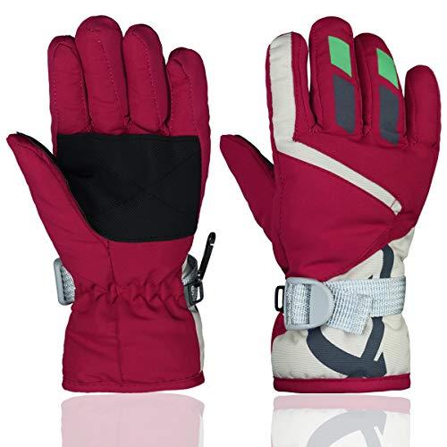 Momoon kinderhandschoenen winter warme outdoor ski- & snowboard handschoenen één maat (voor kinderen 2-4)