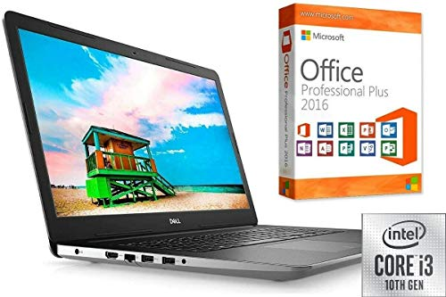 "Laptop INSPIRON 3793 - CORE i3 - 16GB DDR4-RAM - 1000GB SSD - Windows 10 PRO + MS Office 2016 PRO - 44cm (17.3\"") Full HD MATT - CD/DVD Brenner"