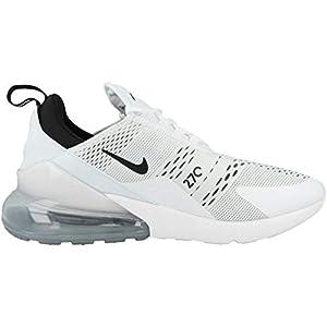 Nike Women's Air Max 270 White/Black/White (AH6789 100) - 8