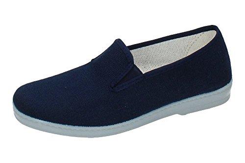 MADE IN SPAIN 300 Zapatilla DE Lona Hombre Zapatillas Azul 45