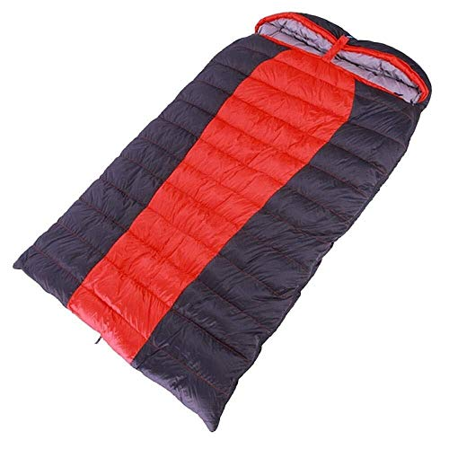 sleeping bag Portable nylon braided standard temperature, protected 1000 is filled down, outdoor thickening large space