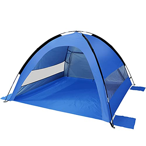 Sumerice Family Beach Tent and Sun Shade UV Cabana Shelter, Camping, Hiking, Fishing, Lightweight,...