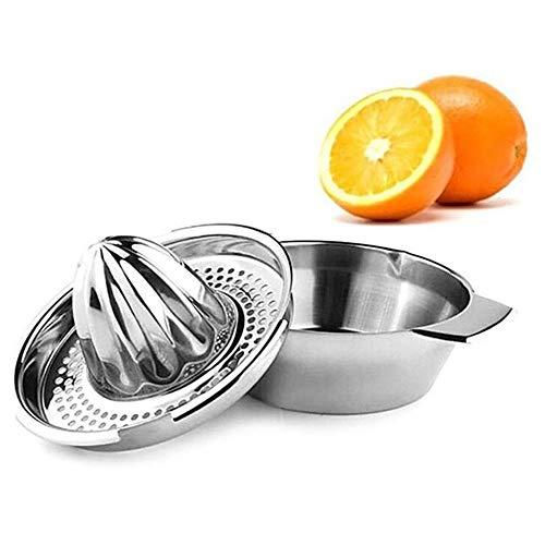 Exprimidores Manuales, Exprimidor Acero Inoxidable de Naranjas de limón,Exprimidor de Frutas Zumo de Cocina,Jugo de Fruta es una Mezcla