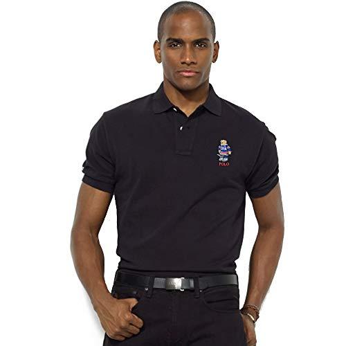 Ralph Lauren Polo Bear Custom Slim Fit (M, Polo Black)