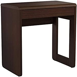Furniture 247 Home Office Computer Desk, 47 x 71.9 x 74.9cm, Black Oak