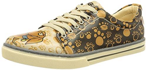 DOGO Sneaker, Zapatilla Mujer, Multicolor, 37 EU