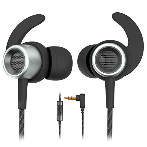 MINDBEAST Noise Cancelling Headphones Wired Earbuds For Kids And Adults With Microphone And Case  Xbox One Headset Gaming Earbuds For Samsung Galaxy Android iPhone, Extra Bass For Sleep Sport Workout