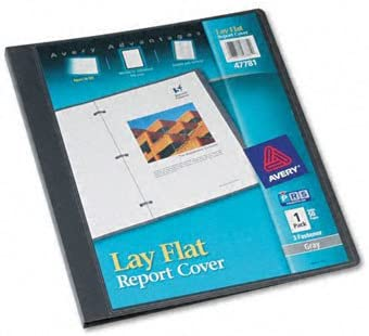 Lay Flat Max 44% OFF Report Cover Set Color: 2 Time sale of Clear Gray