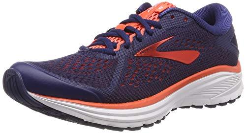 Brooks Aduro 6, Zapatillas de Running Mujer, Azul (Blue/Coral/White 438), 37.5 EU