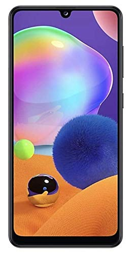 Samsung Galaxy A31 64GB / 4GB - A315G/DSL Unlocked Dual Sim Phone w/Quad Camera 48MP+8MP+5MP+5MP GSM International Version (Prism Crush Black) Maryland