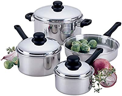 Amazon.com: Cocina Cocina de acero inoxidable select 7 ...