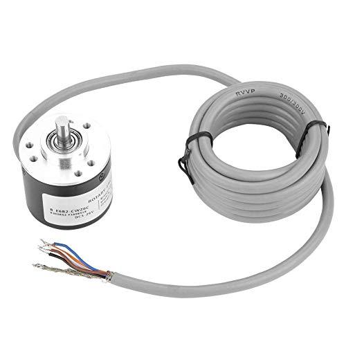 Encoder, Inkrementaler Drehgeber E6B2-CWZ6C Inkrementaler Drehgeber Universeller Drehgeber mit einem Durchmesser von 40 mm,Maximal zulässige Geschwindigkeit 6.000 U/min(Auflösung600)