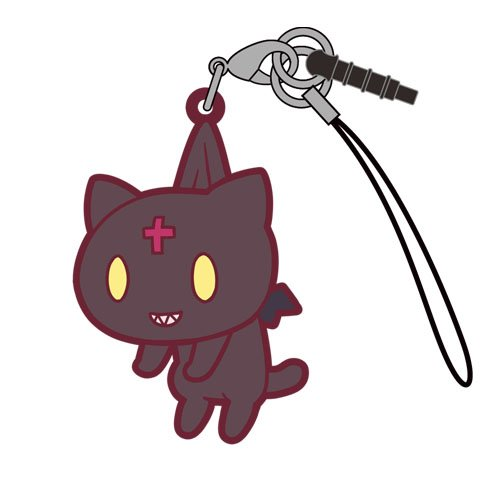Konosuba Give Blessings on This Wonderful World! Chomusuke Character Tsumamare Pinch Rubber Phone Strap Mascot Collection Anime