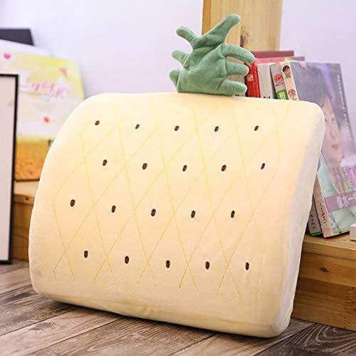 YZY Memory Foam Throw Almohada cojín Relleno de la Felpa Oficina Amortiguador Trasero del hogar del Regalo del Amortiguador del sofá Throw Almohada de Cama Almohadilla de la Silla