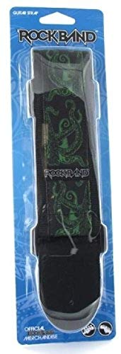 Rock Band Guitar Strap Green Octopus for Playstation 3