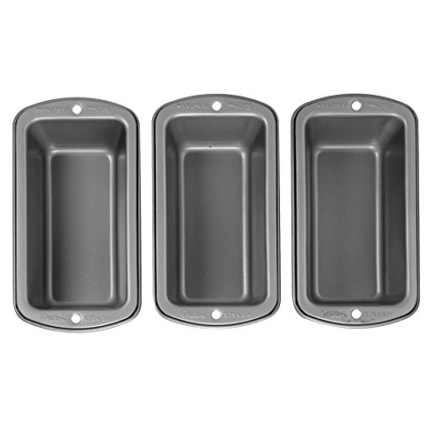 Wilton Recipe Right Non-Stick Mini Loaf Pan Set