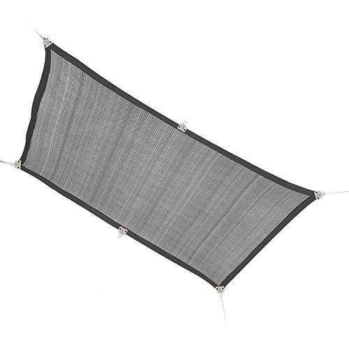 FLAMY Tela de sombra de bloqueador solar, tela de sombra, red de protección solar, para cubierta de plantas/flores de invernadero/patio al aire libre/coche/piscina HDPE tela de sombra