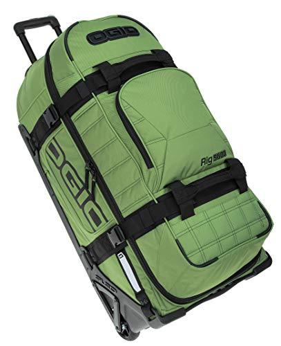 Reisetrolley Ogio Rig 9800 Rolltasche Reisetasche mit Rollen Trolly 120 L + TSA Schloß (Army Green (Oliv))