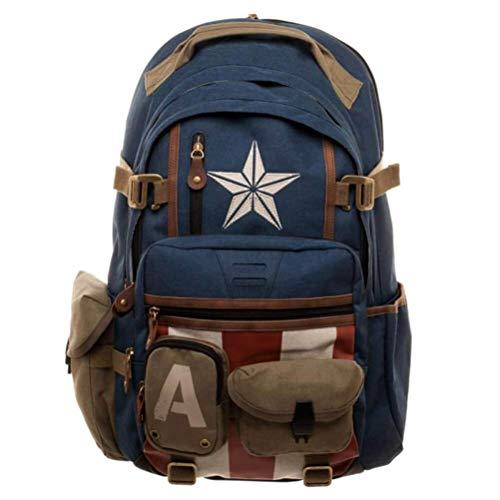 10 best captain america bookbag for adults for 2021