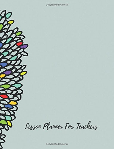 Lesson Planner For Teachers Undated Lesson Plan Book For Teachers 40 Weeks 7 Periods With Classroom Management Goals Substitute Teacher Info Multiple Record Pages Teaching Resources