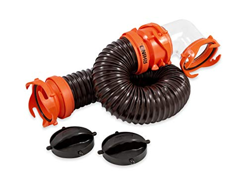 Camco 3 Foot 39768 Rhinoflex Tote Tank Hose Kit