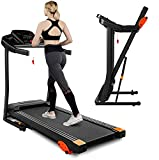 Treadmill,Treadmills for Home, 2.5HP Portable Foldable Treadmill with 15 Pre Set Programs and LED Display Panel