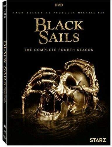 Black Sails The Complete Season 4 (DVD,2017)