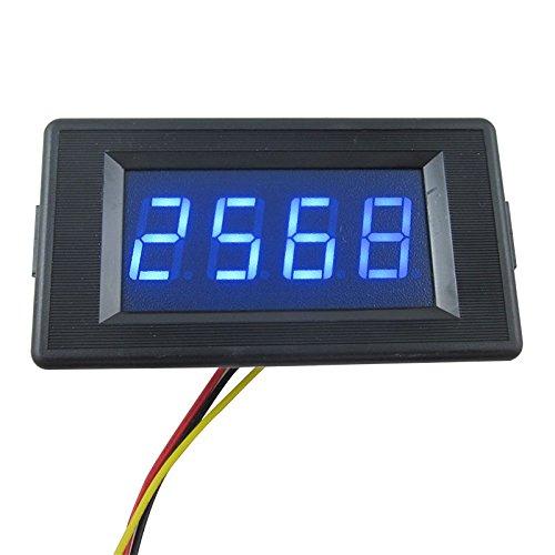 DIGITEN DC 24V 4 Digit Digital LED Counter Panel Meter Up and Down Totalizer 0-9999 Blue