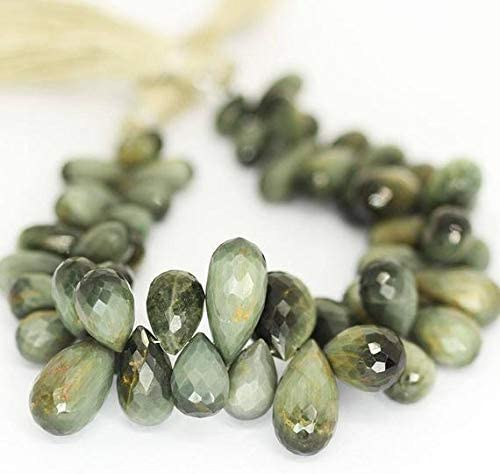 GEMS-WORLD Beads Gemstone Bi Color Inventory cleanup selling sale Cat's T Faceted Fixed price for sale Eye Briolette