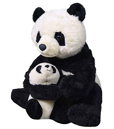 "Wild Republic Mom & Baby Panda Plush, Stuffed Animal, Plush Toy, Gifts for Kids, 12"", Model: 19398"