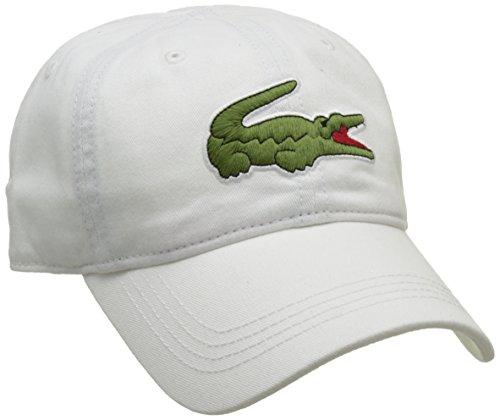 Lacoste Herren Rk8217 Baseball Cap, Weiß (Blanc), One Size (Herstellergröße: TU)