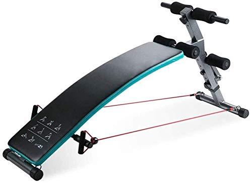 Nologo Egcsf Hantelbank, verstellbar, multifunktional, für Bauchmuskelübungen, Bauchtrainer