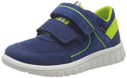 Superfit Jungen SPORT7 Mini Sneaker, Blau (Blau/Grün 81), 25 EU