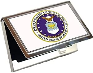 Airforce Logo Business Card Holder