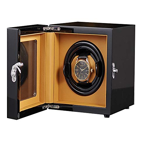 N\C xikuo Watch Winder, Se Puede Añadir 1 Reloj Automático, Ultra Silencioso Motor Anti-magnético, con Suave Y Flexible Tabla Almohada, Tamaño 15 * 19 * 15 Cm