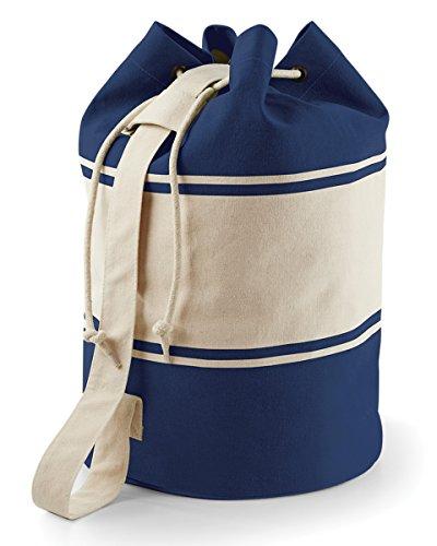 Quadra Canvas Rucksack - 30 Liter (Einheitsgröße) (Marineblau/Natur)