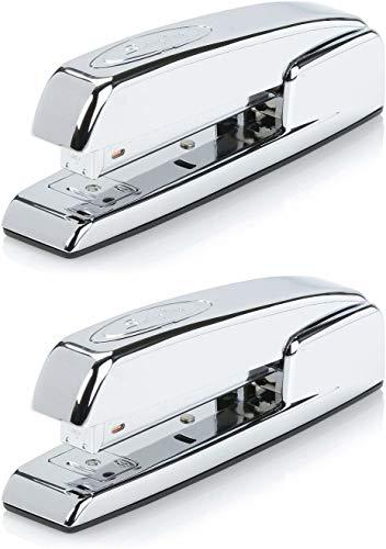 Swingline Stapler, 747 Iconic Desktop Stapler, 25 Sheet Capacity, Chrome (74720) - 2 Pack