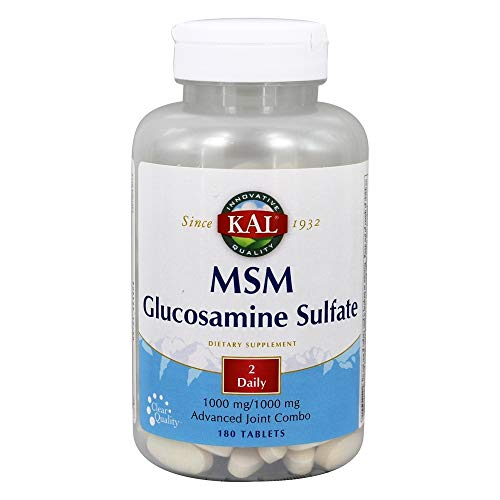 Joint Combo MSM with Glucosamine Sulfate MSM, Methylsulfonylmethane Is a dietary source of sulfur found in living tissue Glucosamine is intended to provide nutritive support for connective tissues 30 servings per container Rapid action formula