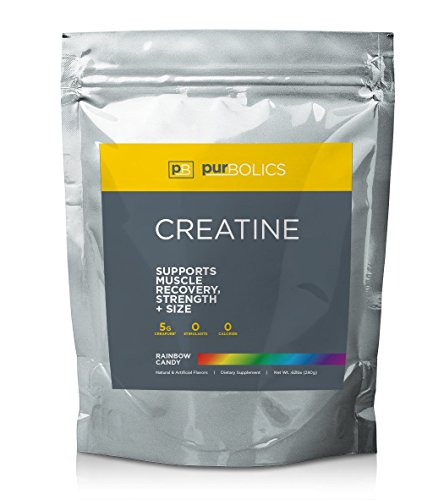 Purbolics Creatine   Supports Recovery & Strength   Trademark Creapure Formula   Micronized Creatine Monohydrate 5g   50 Servings