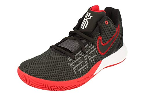 Nike Men's Kyrie Flytrap II Zoom cushioning Basketball Shoes ( Black/Red / #95 )
