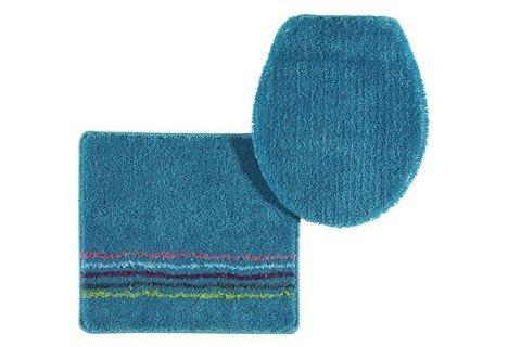Badematte, Farbe blau, 1 Stück, heine home, Grösse: ca. 70x110 cm, rutschhemmender Rücken