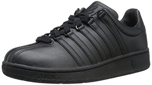 K-Swiss Damen Classic Vn Low-Top Sneakers, Schwarz (Black/Black), 37.5 EU