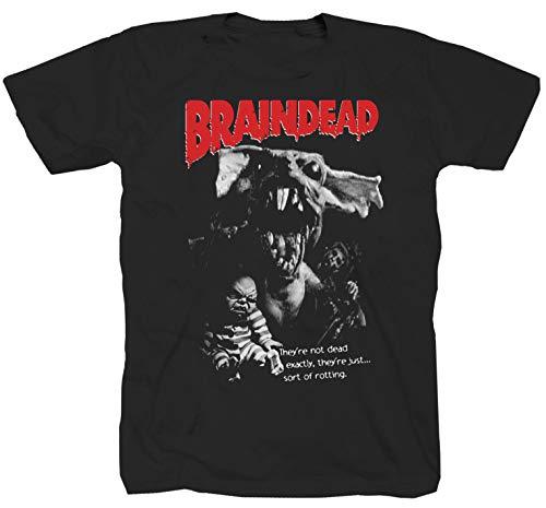 Braindead schwarz T-Shirt (2XL)