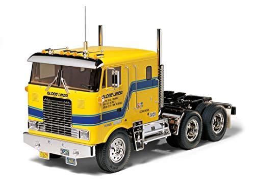 TAMIYA 56304 1:14 Globe Liner Cab Over BS, Bausatz zum Zusammenbauen, RC Truck, fernsteuerbarer, Lastwagen, LKW,...