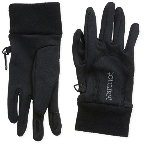 Marmot Damen Handschuhe Power Stretch, Black, L, 18400-001-5