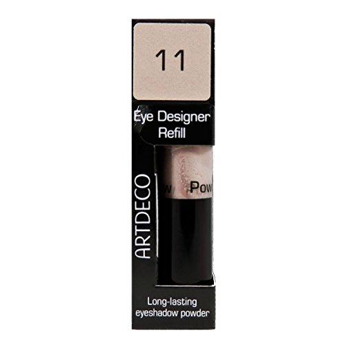 Artdeco Eye Designer Refill, Lidschatten, Nachfüllung, 11, warm beige, 1er Pack (1 x 0,8 g))