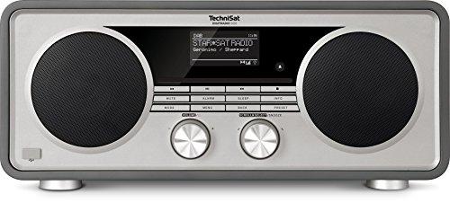 TechniSat DIGITRADIO 600 – Stereo Internetradio (DAB+, UKW, 70 Watt 2.1 System mit Subwoofer, Fernbedienung, CD-Player, USB, Bluetooth, AUX, WLAN, LAN, Radiowecker, Spotify Connect) anthrazit